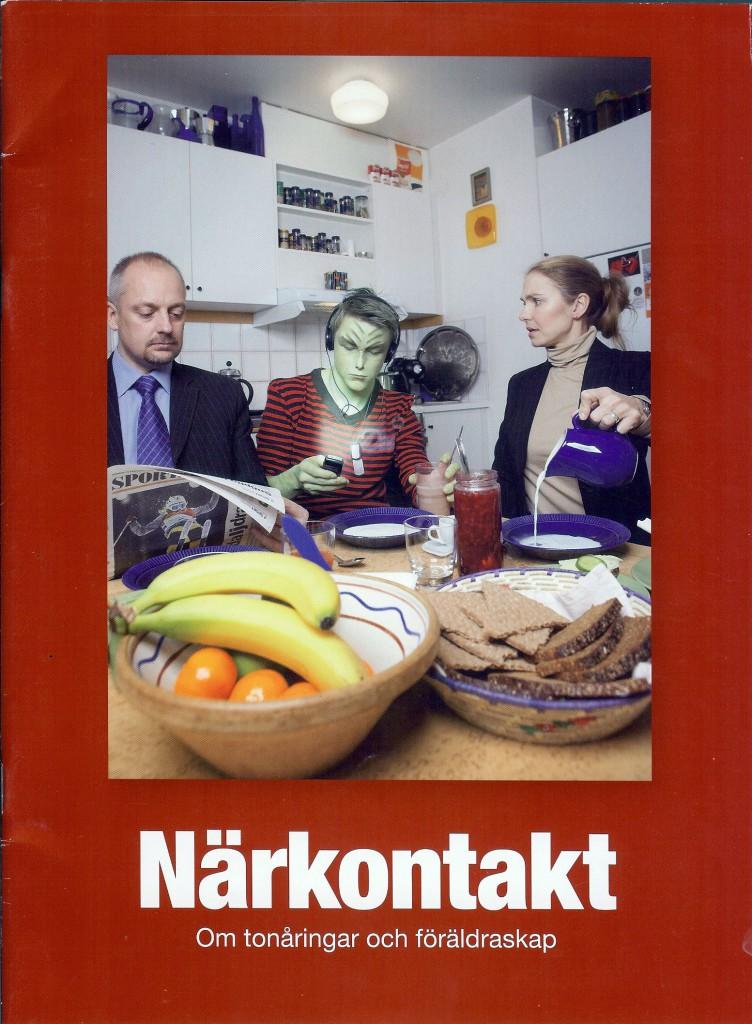 Närkontakt – en broschyr från Stockholm Stad till tonårsföräldrar i Stockholm